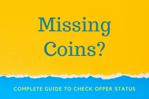 Missing Coins? A quick guide